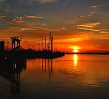 Monkey Island Sunset II by Michael Reimann