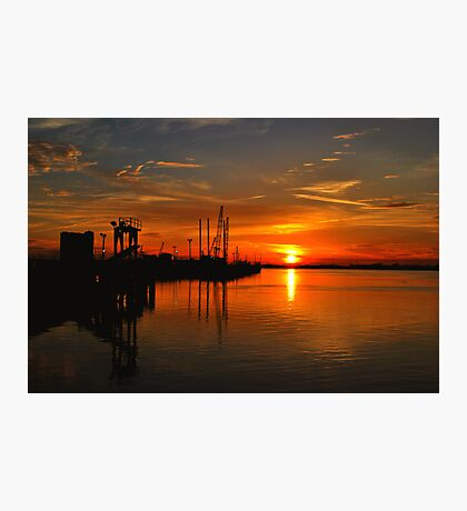 Monkey Island Sunset II Photographic Print