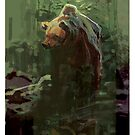 Forest Bear by David  Kennett