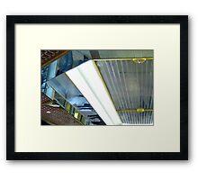 Reflective Property! Framed Print