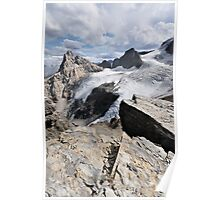 Hilda Peak and Boundary Glacier, Banff National Park Poster