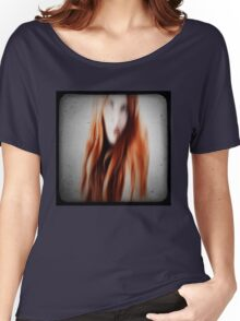 Red head girl Women's Relaxed Fit T-Shirt