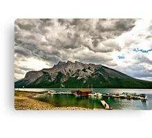 Minnewanka Lake, Banff NP Canvas Print