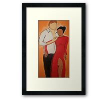 Tango With Me Framed Print