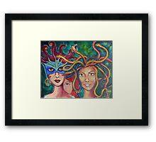 Inner Landscape Framed Print