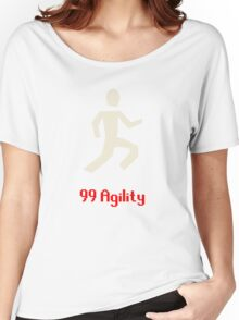 Runescape: 99 Agility Women's Relaxed Fit T-Shirt