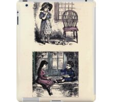 The Little Folks Painting book by George Weatherly and Kate Greenaway 0099 iPad Case/Skin