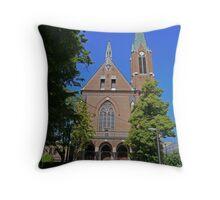 Church of the Sacred Heart of Jesus, Ljubljana, Slovenia Throw Pillow
