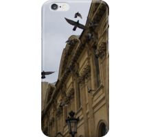 Commotion in the Sky of Paris iPhone Case/Skin