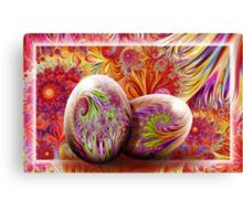 Eggtastic Canvas Print