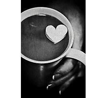 love in a cup ........ Photographic Print