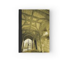 Gate House Interior - Donnington Castle Hardcover Journal