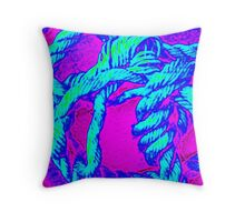 Neon Rope Throw Pillow