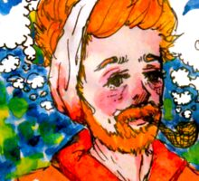 Van Gogh by Ane Teruel Sticker