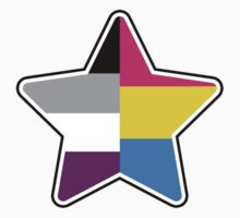 Panromantic Asexual Star by hamsters