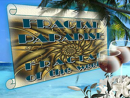 Fractal Paradise - Fractal of the week banner by Fiery-Fire