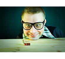 Nerd =) Photographic Print