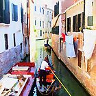 Side Streets Of Venice by Holguinism