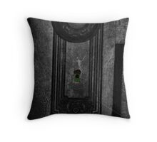 Spying Throw Pillow