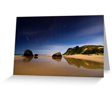 Maketu Startrails Greeting Card