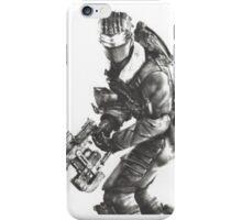 Dead Space 3 Arctic Survival Sketch iPhone Case/Skin