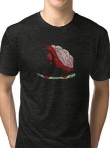 ninjombie, the zombie ninja... Tri-blend T-Shirt