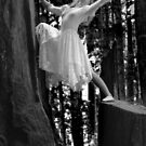 Becky, Redwoods Lean by Jeff Holcombe