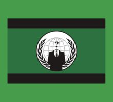 Anonymous Flag by Chillee Wilson Kids Clothes