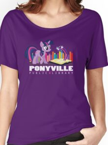 Ponyville Public Library Women's Relaxed Fit T-Shirt