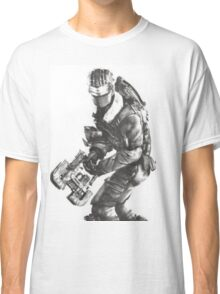 Dead Space 3 Arctic Survival Sketch Classic T-Shirt