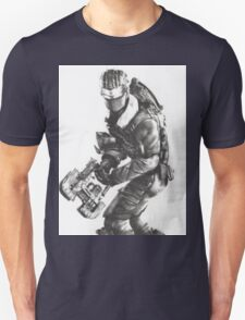 Dead Space 3 Arctic Survival Sketch T-Shirt