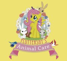 Fluttershy's Animal Care Baby Tee