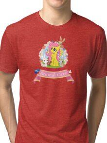 Fluttershy's Animal Care Tri-blend T-Shirt