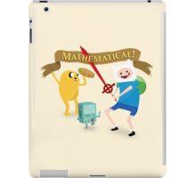 Mathematical Adventure Time! iPad Case/Skin