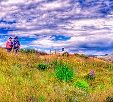Hikers on Holhoek Trail by JandeBeer