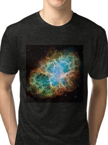 Galaxy Crab Tri-blend T-Shirt