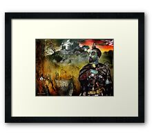Mystical Adventures (art & poetry) Framed Print