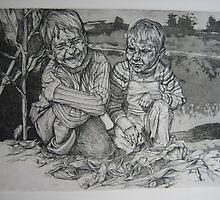 Mon frère et moi II by dominique