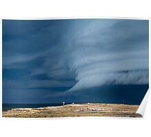 Summer storm, Coledale  Poster