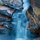 joffre falls - karijini, western australia by col hellmuth