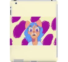 Blueberrry Cat (Furry) iPad Case/Skin