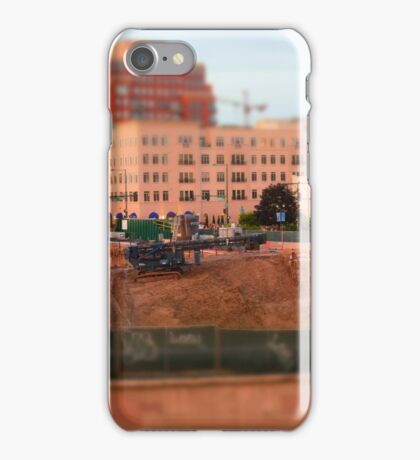 Construction site iPhone Case/Skin