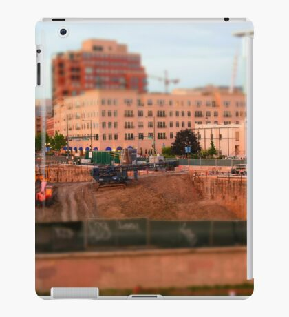 Construction site iPad Case/Skin