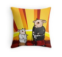 Hamsters Throw Pillow