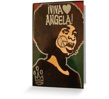 VIVA ANGELA Greeting Card