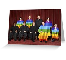 Gay Court - Same-Sex Marriage Greeting Card