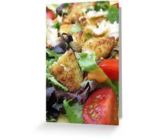 Food Photography Greeting Card