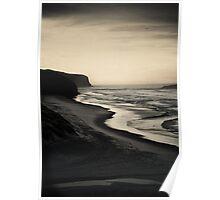Tomohawk Beach, South Island, New Zealand Poster