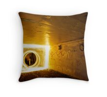 The Sun always shines on TV Throw Pillow