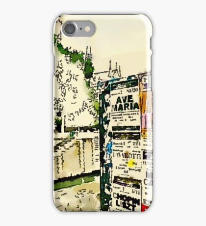 Concert by the Seine in Paris, across from Notre Dame iPhone Case/Skin